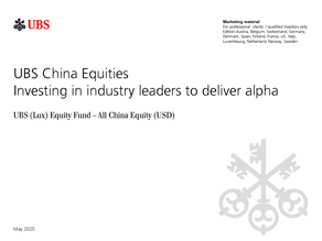 UBS China Equities