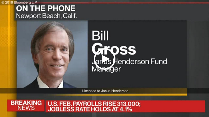 Bill Gross video: Where next? Interpreting latest data reads (March 2018)