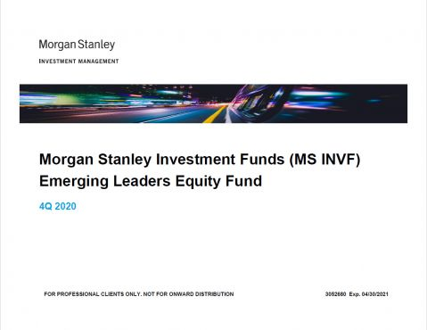 Präsentation Morgan Stanley Investment