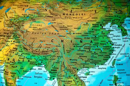 große ebene china karte Große Ebene Asien Karte | goudenelftal