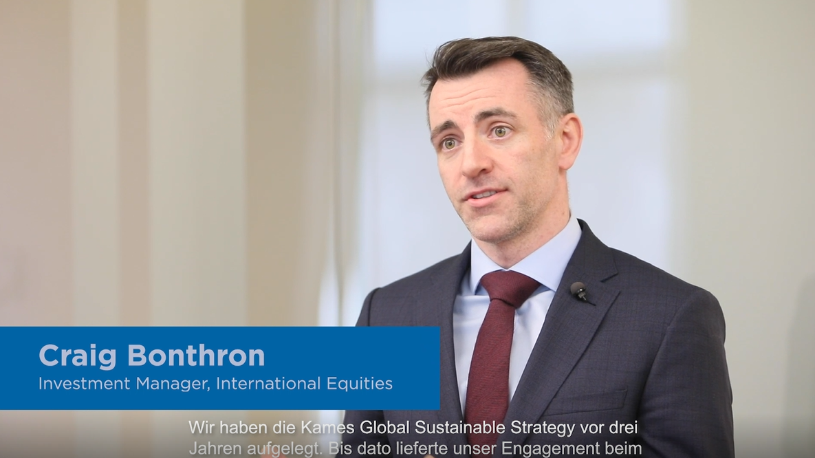 Kames Global Sustainable Equity Fund - Craig Bonthron